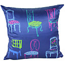 Cartoon Still Life Chair Decorative Pillow Cover