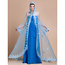 Long Sleeve Organza Wedding/Evening Hood/Poncho (More Colors)