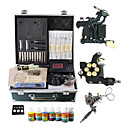 2 Fer machine Cast Guns Kit avec cran LCD de puissance et 7 couleurs d'encre