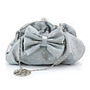 Bow Rhinestones Evening Bag