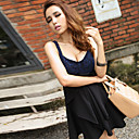 Women's Lace Backless Strap Dress