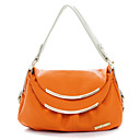Women's Simple Contrast Color Print Shoulder Bag