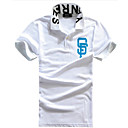 Men's Fashion Casual Shirt Kraag korte mouw T-shirt
