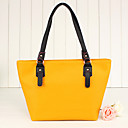 Simple Solid Color Tote