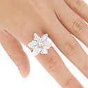 Simple Sweet Camellia Ring