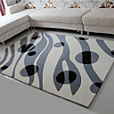 6.5' Abstract Geometric Pattern Acrylic Bonded Rug