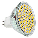 MR16 3.5W 80x3528SMD 300LM 2800-3300K Warm wit licht LED Spot lamp (12V)