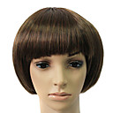Capless Synthetic Brown Short straight Bob Hair Wig