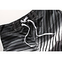 Mens Beach Casual Newly Stripes Check Trunks