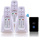2.4G Digital Wireless DoorBell Intercom System(3 Receiver)