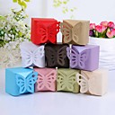 Butterfly Top Favor Box – Set of 12 (More Colors)