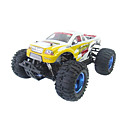 1:10 RC Car Land Overlord Nitro Gas Monster 18cc Motor Truck RTR Fast Speed ​​Model Truck Toy