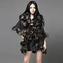 Half Sleeve Shawl Fox Fur/Faux Fur Casual/Party Coat