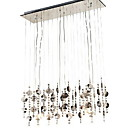 120W Modern Crystal Pendant Light with 6 G4 Lights