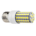 E27 7W 69x5050SMD 630LM 6000-6500K Natural White Light LED Corn Bulb (220-240V)