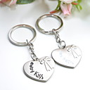 Personalized &quot;Kiss Baby&quot; Keyring Favor (Set of 6 Pairs)