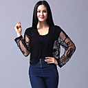 Long Sleeve Tulle Evening/Casual Wrap/Jacket (More Colors)