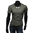 Mannen Romeinse Basic korte mouwen T-shirt