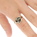 Vintage bague en forme de rose