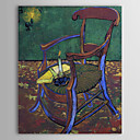 Famous Oil Painting Gauguin's Chair by Van Gogh