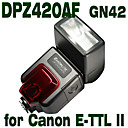 Emoblitz DPZ420AFC Digital Dedicated PowerZoom Flashgun for Canon E-TTL II 7D 5D II