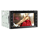 6,2 polegadas 2DIN carro dvd player (gps, ISDB-T, ipod, rds)