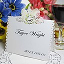 Rose Cut-out Place Card (Set of 12)