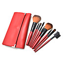 9Pcs High Quality Makeup Brush Set with Free Leather Case