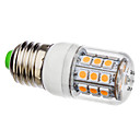 E27 3.5W 30x5050SMD 330-360LM 3000-3500K Warm White Light mit Abdeckung LED Mais-Birne (110V/220V)