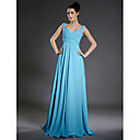A-line Sweetheart Floor-length Chiffon Bridesmaid/Wedding Party Dress