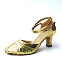 Women's Leatherette Upper Ankle Strap Modern / Ballroom Dance Shoes (More Colors)
