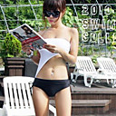 Women's Solid Color Strapless Swimwear