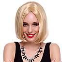 Capless High Quality Synthetic Short Straight Blonde BOB Hair Wigs