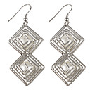 Double Pearl Stainless Steel Earring