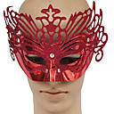 Red PVC Party Queen Masquerade Mask