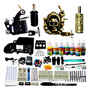 2 Tattoo Machine Gun Kit with 7*10ML Colors