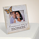 Every Moment Butterfly Pattern Picture Frame