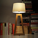 Loft Scandinavian Vintage Industrial Wood Building Blocks Style T-6051 Table Lamp